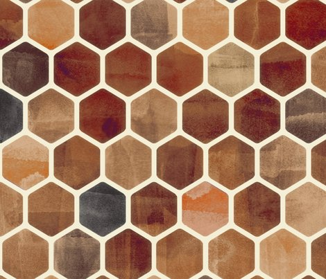 Rbrown_ink_hexagon_pattern_base_shop_preview