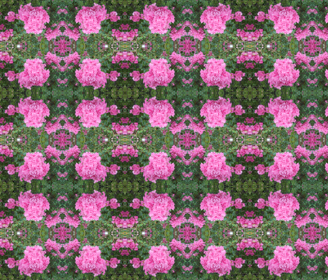 Myrtle's Lovely Lacy Blossoms (Ref. 1193) fabric by rhondadesigns on Spoonflower - custom fabric