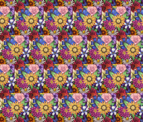 Prisma Flowers fabric by katiri_shea_ on Spoonflower - custom fabric