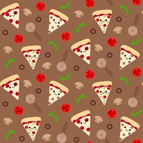 Happy Pizza Toppings