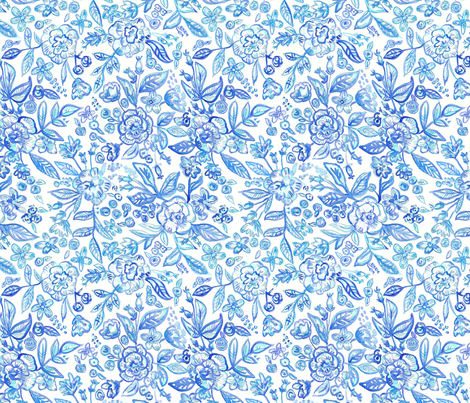 dilly dalian catherine  fabric by dillydalian on Spoonflower - custom fabric