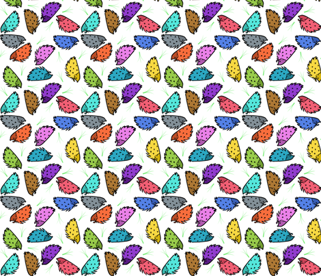 Hog Hedge fabric by xoxolauren on Spoonflower - custom fabric