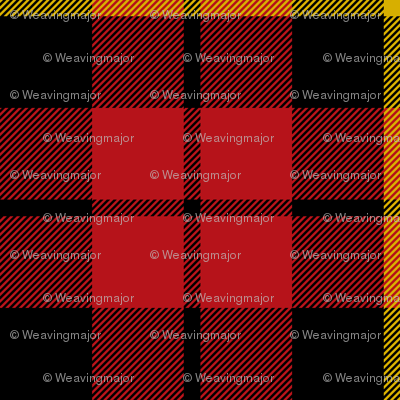"Wallace clan tartan, small .8"" repeat"
