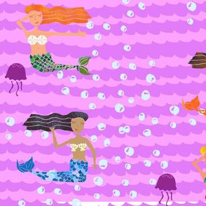 mermaid pijamas' party