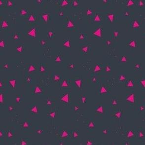 Triangles Tiny Hot Pink - Tribal Dance  - © PinkSodaPop 4ComputerHeaven.com