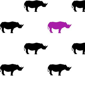 Rhino // Purple