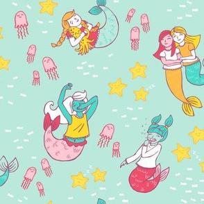 Mermaid Pajama Party on Mint