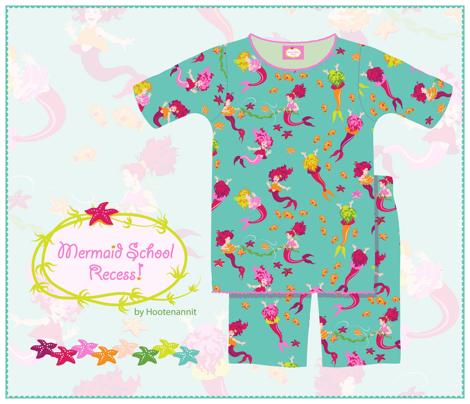 Mermaid School Recess!