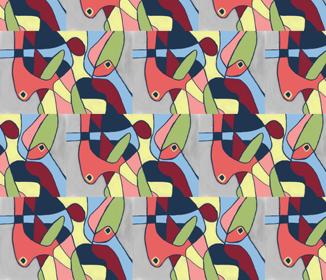 Attachment fabric by tara's_bazaar on Spoonflower - custom fabric