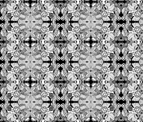 Goddess Doodles fabric by magicmamahandmade on Spoonflower - custom fabric