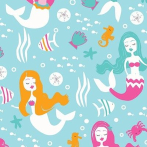 Mermaids and Sea Friends