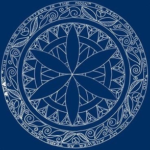 Blue-Mandala