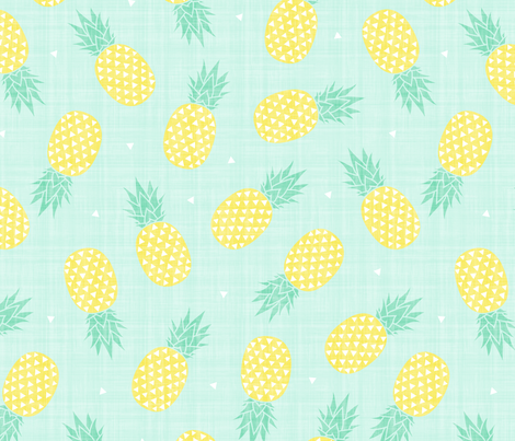 Pineapple - Texture fabric by kimsa on Spoonflower - custom fabric