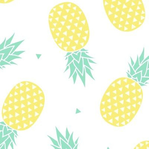 Pineapple - White Background