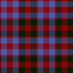 Gow or MacGowan tartan, ancient colors