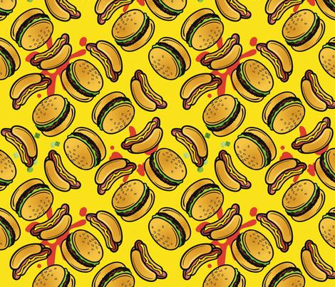 picnic  fabric by hannafate on Spoonflower - custom fabric