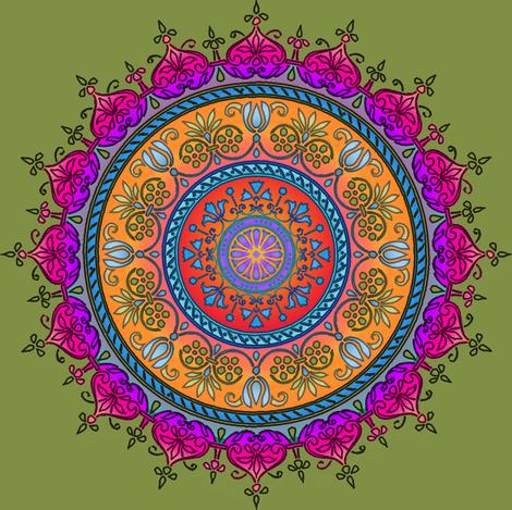 dutch medallion jewel box fabric by keweenawchris on Spoonflower - custom fabric