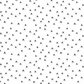 Black + White Arrow Heads // small