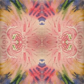 Abstract mum bouquet