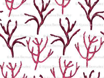 Pink Picked Branches