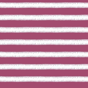 White on Purple Stripe