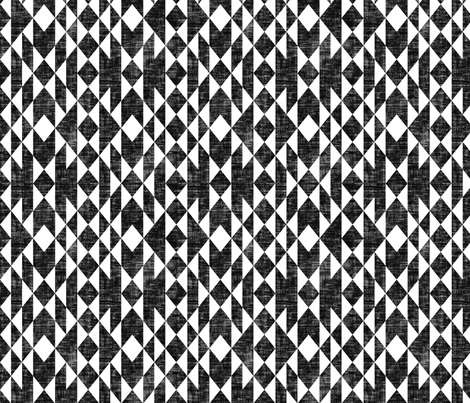 Geos Black White Texture Fabric By Kimsa On Spoonflower