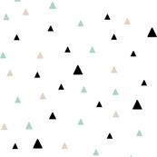 Tiny Triangles - Mint