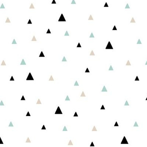 Tiny Triangles - Mint