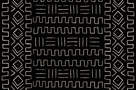 Mud Cloth Wallpaper Theseateryshop Spoonflower