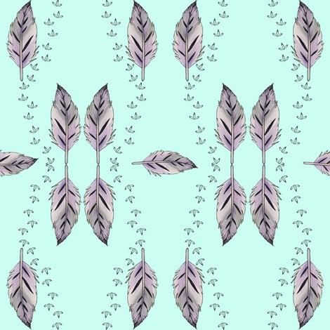 Seaside Stroll fabric by christinemay on Spoonflower - custom fabric