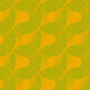 Fossilescent (Green on Yellow)