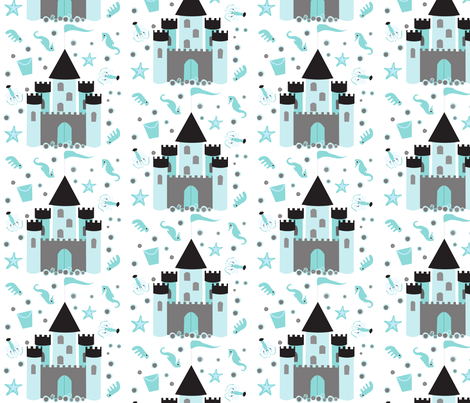 sand fabric by terhitörsleff on Spoonflower - custom fabric