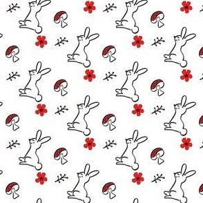 Little Woodland Bunny