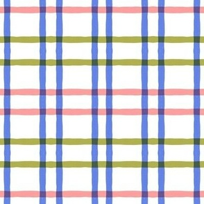 pink green purple plaid