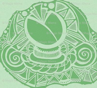 Floral- Paper Cutout