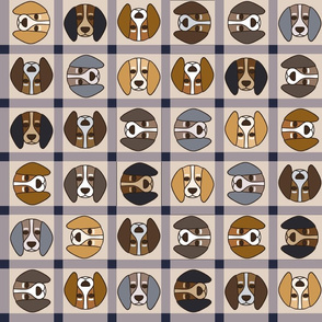 Beagle Buffalo Check - multidirectional