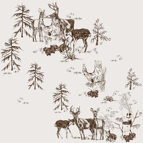 Deer Love [large scale]