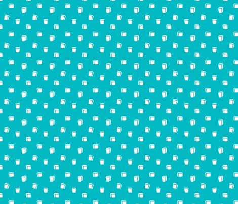 Sweeter - Blue - Pink Lemonade fabric by smashworks on Spoonflower - custom fabric