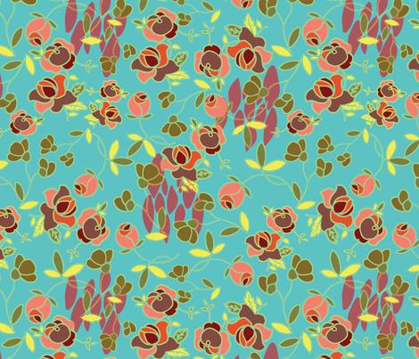 tea_time_ fabric by megancarroll on Spoonflower - custom fabric
