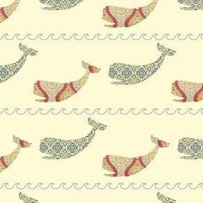 Whale rick rack