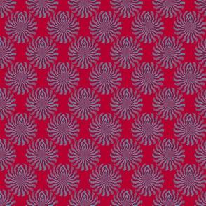 Encantado (Blue on Red)