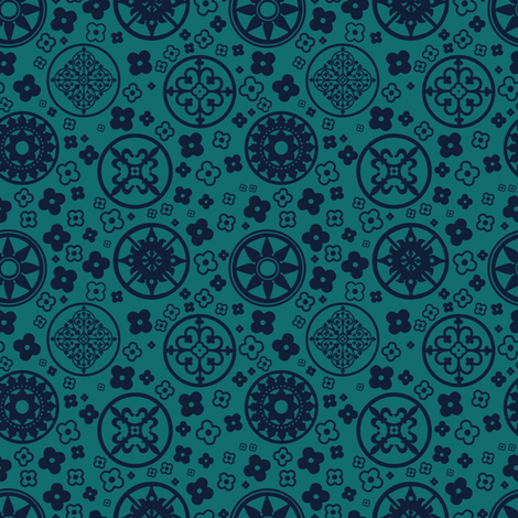 London1 fabric by lee_powers on Spoonflower - custom fabric