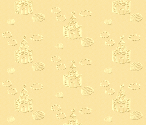 Castles in the Sand fabric by gnarllymamadesigns on Spoonflower - custom fabric