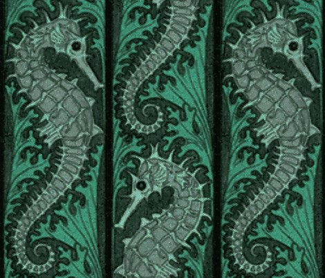 Rseahorse_stripe_mosaic___emerald_grey___peacoquette_designs___copyright_2015_shop_preview