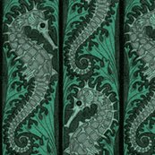 Rseahorse_stripe_mosaic___emerald_grey___peacoquette_designs___copyright_2015_shop_thumb