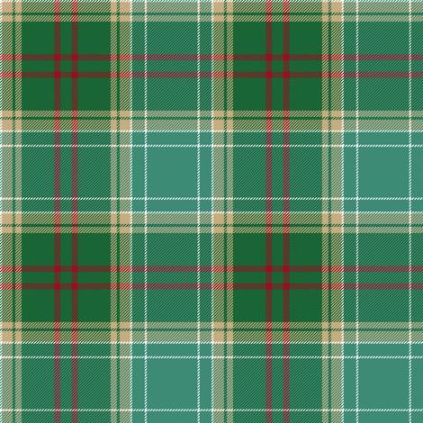 Michigan tartan - forest fabric by weavingmajor on Spoonflower - custom fabric