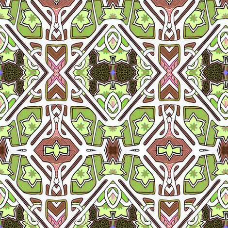 Ivy League Deco Rations fabric by edsel2084 on Spoonflower - custom fabric