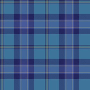 St. Andrews' Highland Games plaid / Banff and Buchan district tartan
