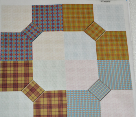 Bowtie and Snowball Cheater quilt