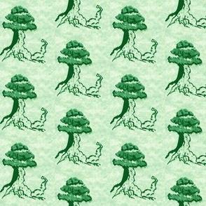 Sumi-e Tree
